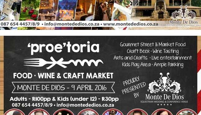 """Proe""toria – Food, Wine & Craft Market"